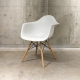 Plastic Shell Armchair (White) / Herman Miller / Charles & Ray Eames